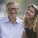 Bill Gates with Phoebe Adele Gates