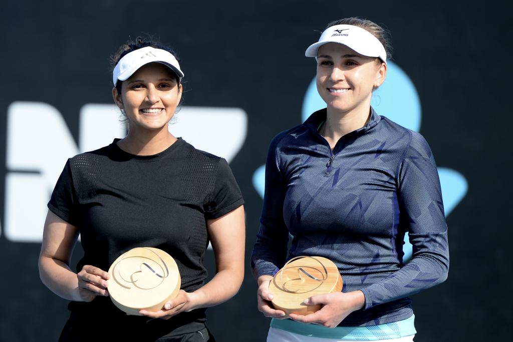 Sania Mirza and Nadiia Kichenok