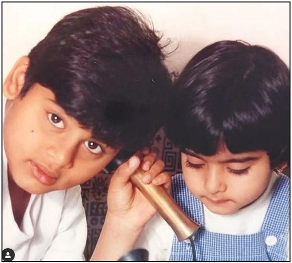 Abhimanyu Dasani Childhood Picture