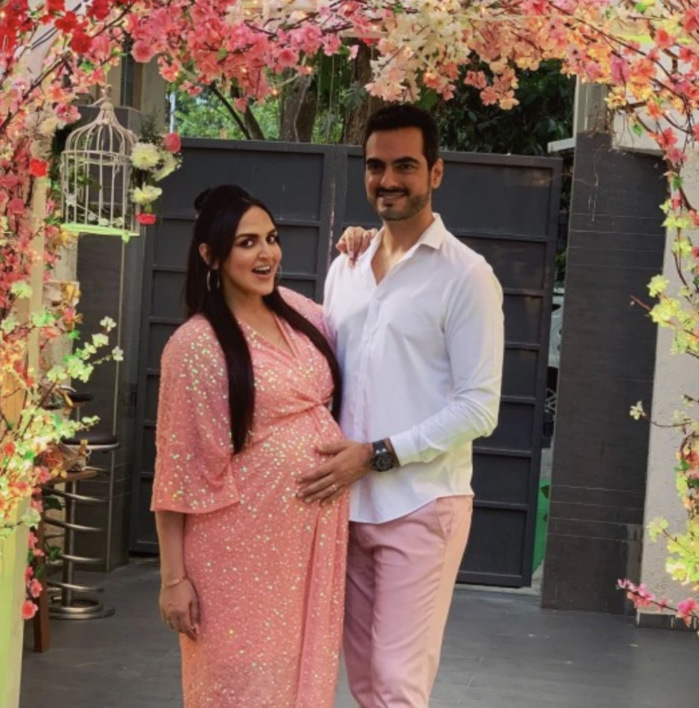 Esha Deol with her Husband