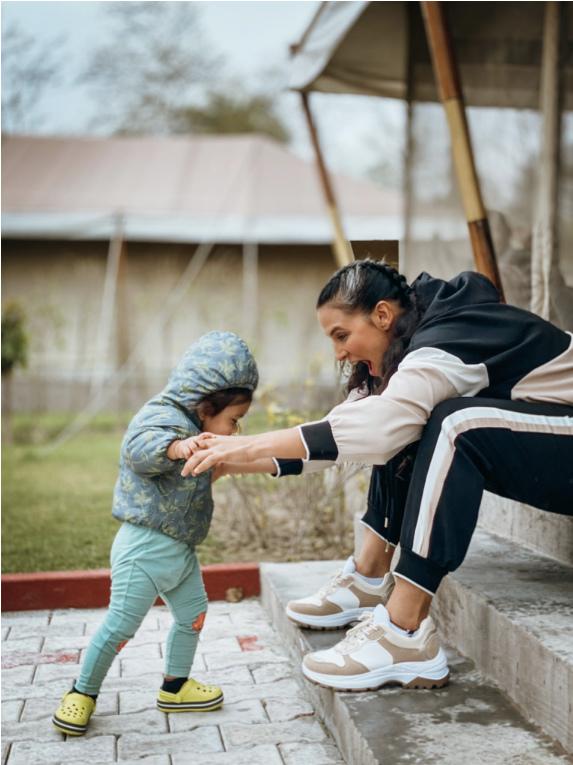 Neha Dhupia's Daughter