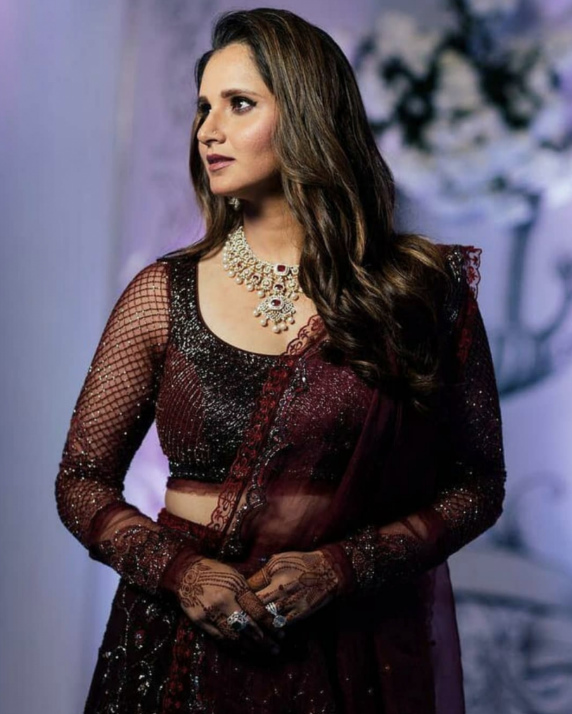 Sania Mirza Sister Wedding Image