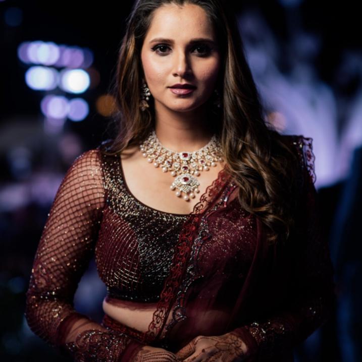 Sania Mirza Sister Wedding Picture