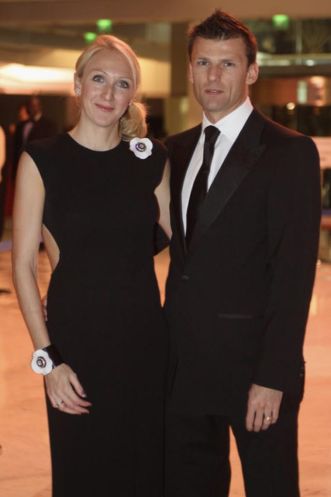 Paula Radcliffe with Husband Gary Lough