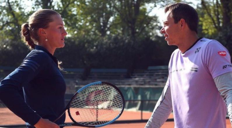Kristina Mladenovic Coach