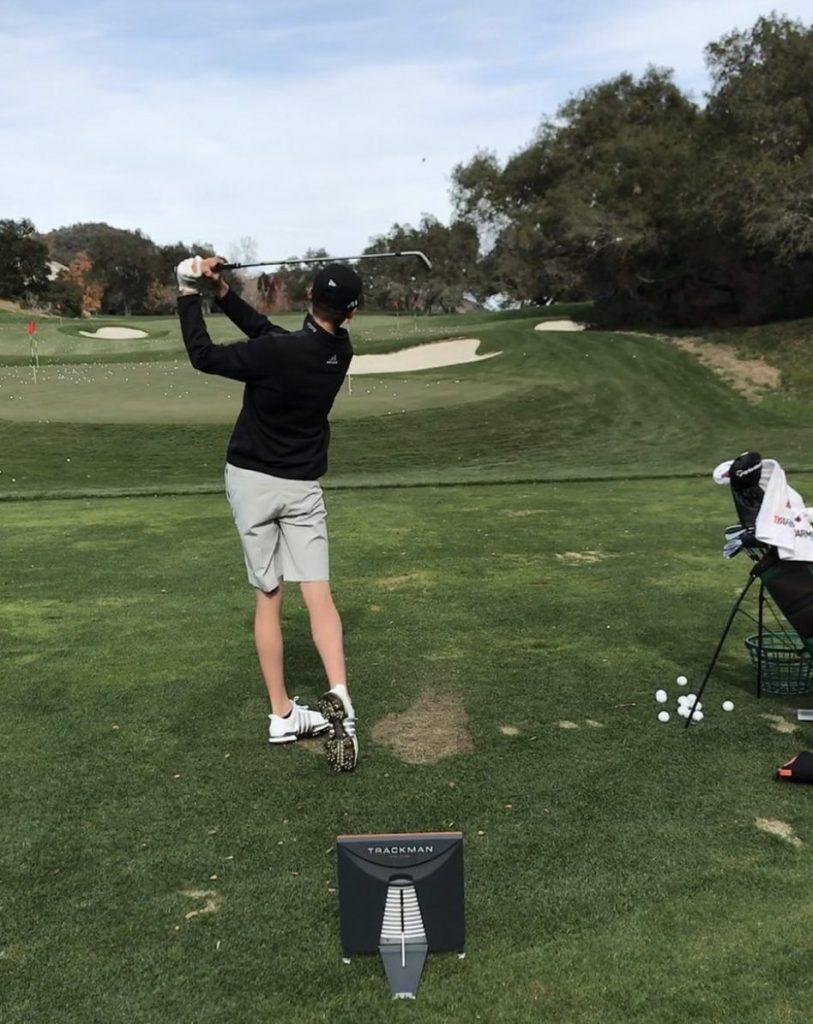 Tristan Gretzky Playing