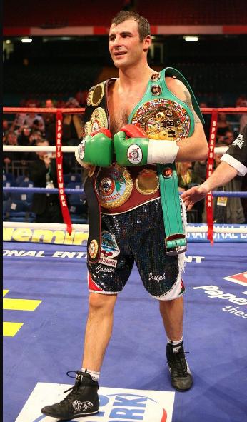 Joe Calzaghe Boxer Image