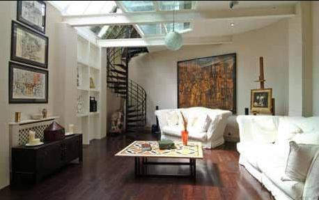 Joe Calzaghe House Inside View
