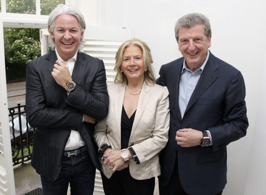 Roy Hodgson Family Picture