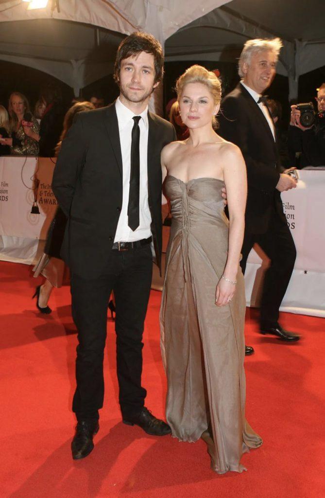 Eva Birthistle with Husband Raife Patrick Burchell