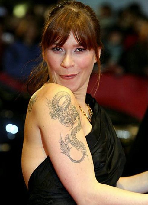 Franka Potente Tattoos on Solder
