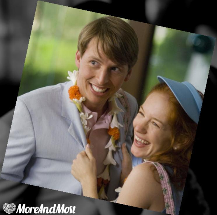 Jack McBrayer and Maria Thayer